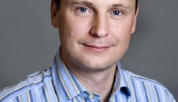 Paal Sigurd Hilde ved IFS (Foto: Håvard Madsbakken).