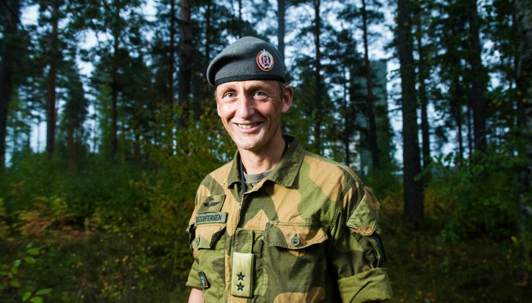 Generalmajor Eirik Kristoffersen.
