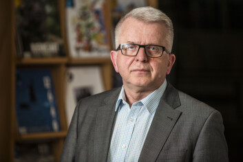 Redaktør i Forsvarets forum, Tor Eigil Stordahl. Foto: Olav Standal Tangen.