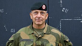 I DILEMMA: Rune Wenneberg er sjefssersjant i Hæren.
