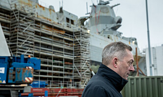 Ber om 14 millioner ekstra til ødelagt fregatt