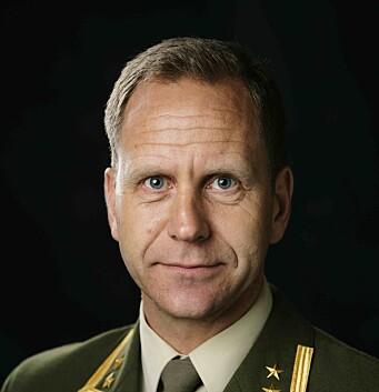 Oberstløynant Jostein Borkhus i Forsvarsstaben