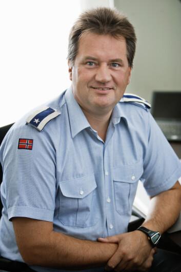 Reino Ottesen, sjef for Forsvarets narkotikagruppe