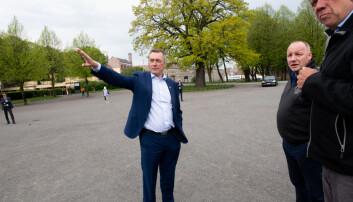 Nasjonalt veteranmonument skal settes opp på Akershus festning