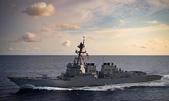 USA sender krigsskip til Svartehavet