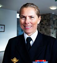 Louise Dedichen, viseadmiral, sjef for den norske militære misjonen i Brussel