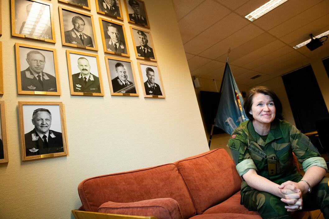 Generalmajor Tonje Skinnarland, sjef for Luftforsvaret