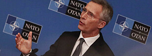 Stoltenberg: – Vi skal ikke militarisere rommet