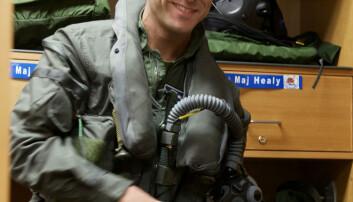 Instruktør. Morten Hanche er kanskje den mest erfarne F-35-piloten i Forsvaret. <SPAN style=&#34;WHITE-SPACE: nowrap; COLOR: &#34;></SPAN>