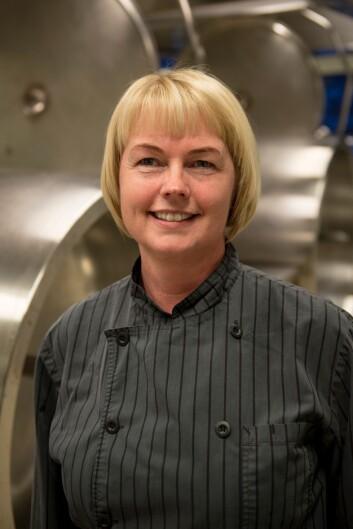 Kjøkkensjef Siw Kathrin Grønnli