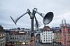 En tyfon, på folkemunne kalt flyalarm, på taket av Østbanehallen i Oslo. I fredstid tester Sivilforsvaret alle landets tyfoner to ganger i året, klokken 12 den andre onsdagen i januar og juni.