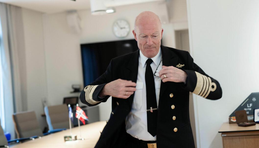 Forsvarssjef Haakon Bruun-Hanssen ønsker blant annet fem nye ubåter og fire nye fregatter.