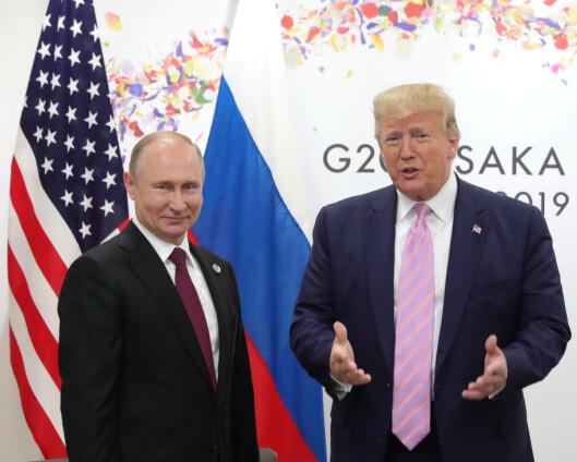 Russland ber USA redde den siste nedrustningsavtalen mellom landene