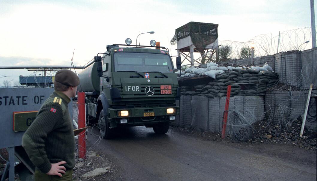 Under krigen på Balkan støttet tidligere amerikanske offiserer blant annet kroatiske styrker med våpen og trening, sier Ståle Ulriksen.