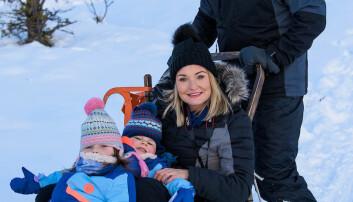 Britiske og norske veteraner og veteranfamilier markerte jul på fjellet.