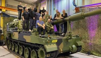 Denne gjengen blir Forsvarets nye eksperter på artilleri