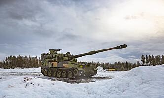 Tester ammunisjon til K9-artilleri