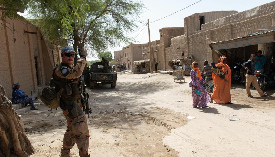 Forsvarets forum besøkte Mali i 2019.