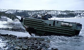 Sunket amfibiefartøy funnet