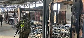 Amerikansk militærlege: 25 fra Ain al-Assad er sendt hjem