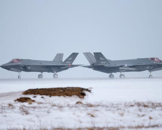 Millionkontrakt for deler til F-35