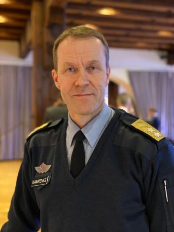 Generalmajor Inge Kampenes er sjef for Cyberforsvaret (Foto: Øyvind Førland Olsen/Forsvarets forum).