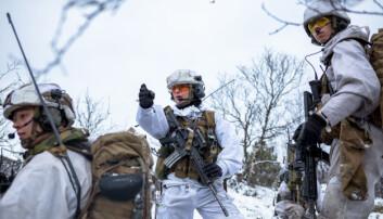 FOH: Utenlandske soldater isolert på Skjold