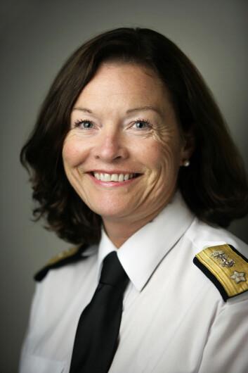Elisabeth Natvig, sjef FST Plan. Foto: Torgeir Haugaard, Forsvaret.