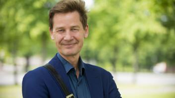 Nils Thune (54)jobber til daglig som ingeniør i Metronor. Helst vil han jobbe som fotograf på heltid (Foto: Christian Nørstebø).