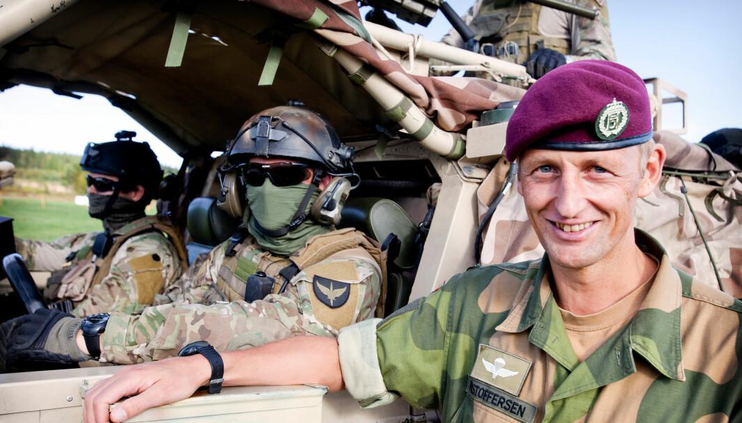 Eirik Kristoffersen har tidligere vært sjef for Hærens jegerkommando/Forsvarets spesialkommando