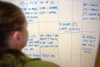 OPSEN: 3. klassingene har ansvaret for øvelsens operasjonssentral.&nbsp;<STRONG style=&#34;COLOR: ; FONT-STYLE: normal&#34;></STRONG>