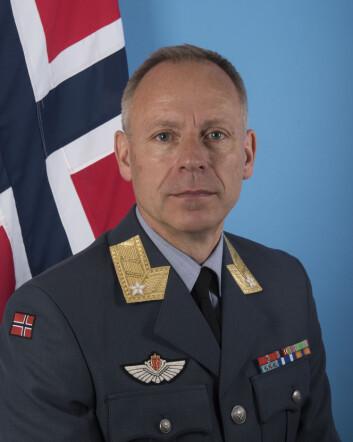 <STRONG>TV-konsept.&nbsp;</STRONG>Sjef for Luftforsvarsstaben, Aage Longva, sier de vurderte å sende F-35 fra USA-Norge minutt for minutt (Foto: Forsvaret).
