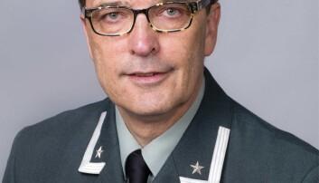 Major Askild Antonsen(Foto: Håvard Madsbakken/Forsvarets museer).