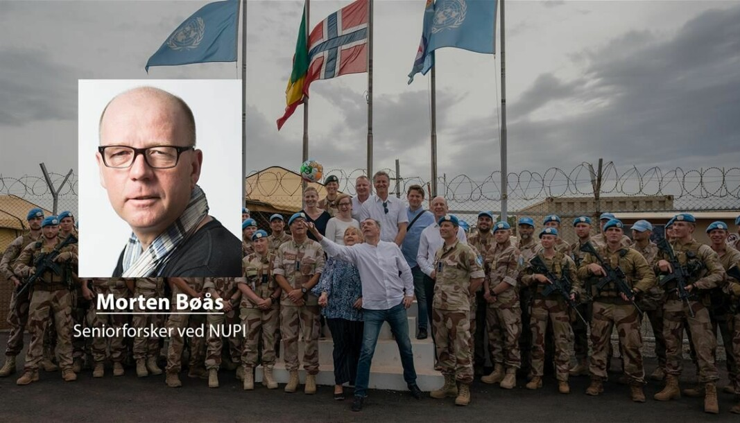Pengeproblemer: FN mangler penger for å betale for fredsbevarende operasjoner. Det kan true bærekraften til FN, skriver Morten Bøås ved NUPI (Foto: Heiko Junge/NTB Scanpix).