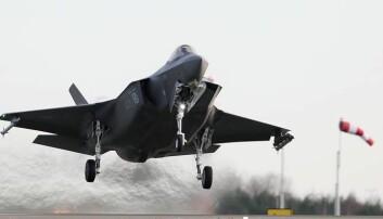 Prisen på F-35 kan ta av