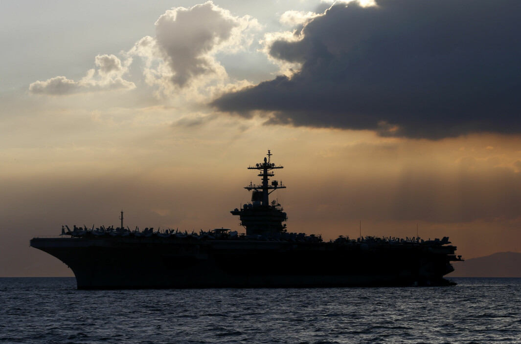 Hangarskipet USS Theodore Roosevelt har et covid-19-utbrudd om bord.