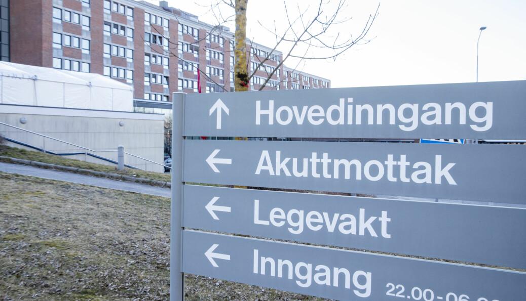 Større bistand til Bærum sykehus blir ikke noe av. Men fortsatt støtter Forsvaret med noen konteinere.