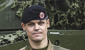 Sjef for Panserbataljonen blir student