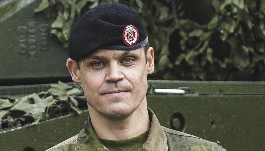 Sjef Panserbataljonen: Oberstløytnant Bjørnar Bragstad.
