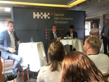 Debatten ble arrangert av Gambit HK.