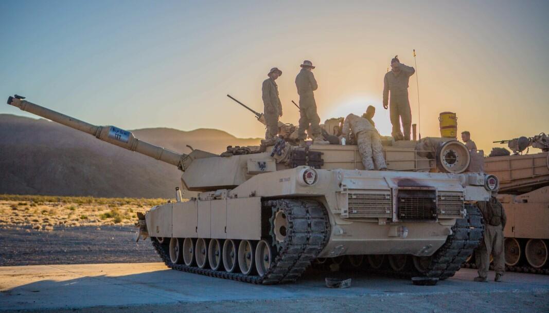 Us Marines foreslår å kutte ut alle stridsvogner for å være bedre tilpasset en konflikt med Kina i Stillehavet.