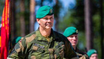 Tidligere sjef for Telemark bataljon, Terje Bruøygard.