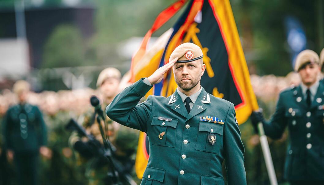 Oberstløytnant Erling Nervik