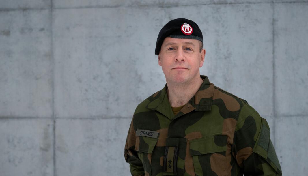 Oberstløytnant Per Espen Strande.