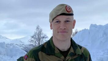 Eirik Skomedal blir talsperson i Hæren