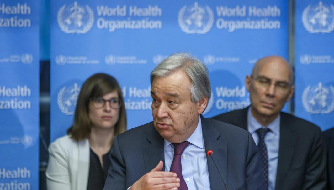 FNs generalsekretær Antonio Guterres åpnet tirsdag denne uken høynivåuka ved FN-hovedkvarteret i New York.