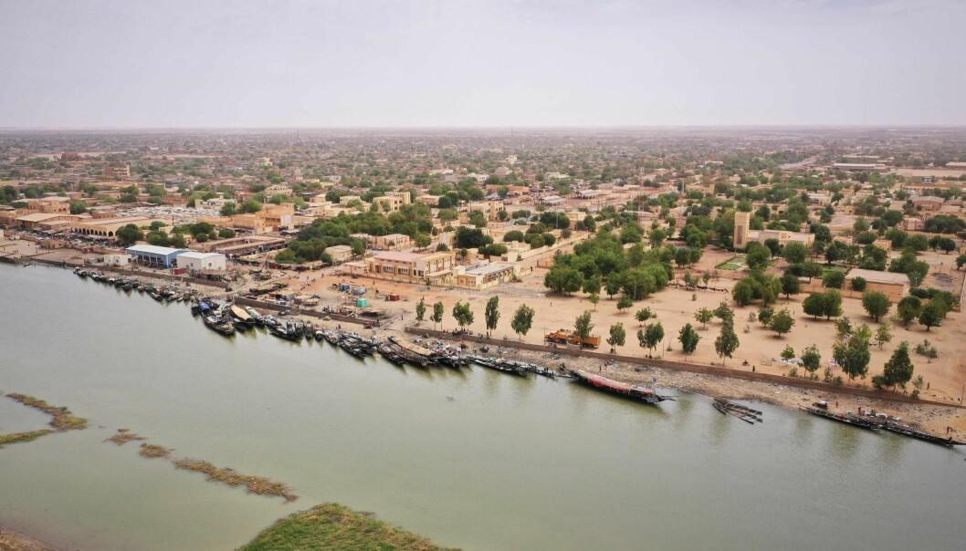 Dette er et illustrasjonsfoto fra regionen Gao, der Bamba ligger.