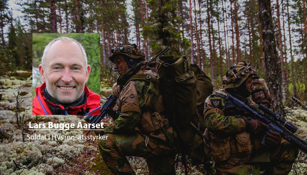 Lars Bugge Aarset har vunnet fram med sitt krav om feriepenger for tjenesten i Heimevernets innsatsstyrker. Han skriver at soldatene må få utbetalt feriepenger for alle år i tjeneste.
