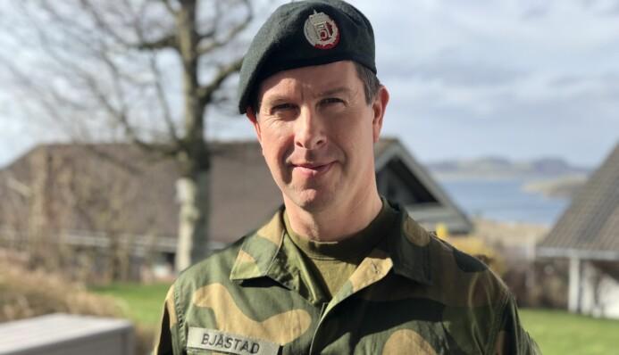 Militærpsykolog Jon Fauskanger Bjåstad bistår soldater før, under og etter internasjonale operasjoner.