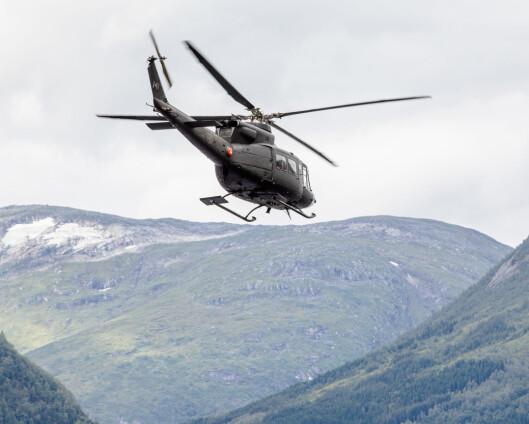 Forsvarets helikopter blir Kirkenes til sommeren